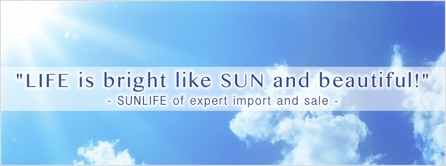 SUNLIFE of export import and sale.